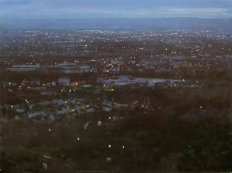 © Robert Perry 'After sunset in the Black Country. From Turner's Hill, Dudley'