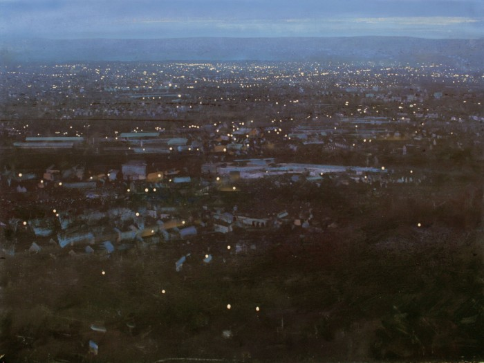 After sunset in the Black Country. From Turner's Hill, Dudley'