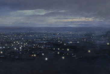 © Robert Perry 'Detail, View West from Turner's Hill, Dudley'